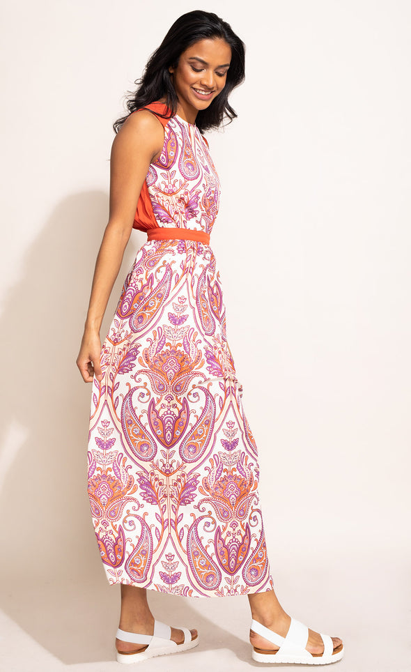 The Paisley Maxi - Pink Martini Collection