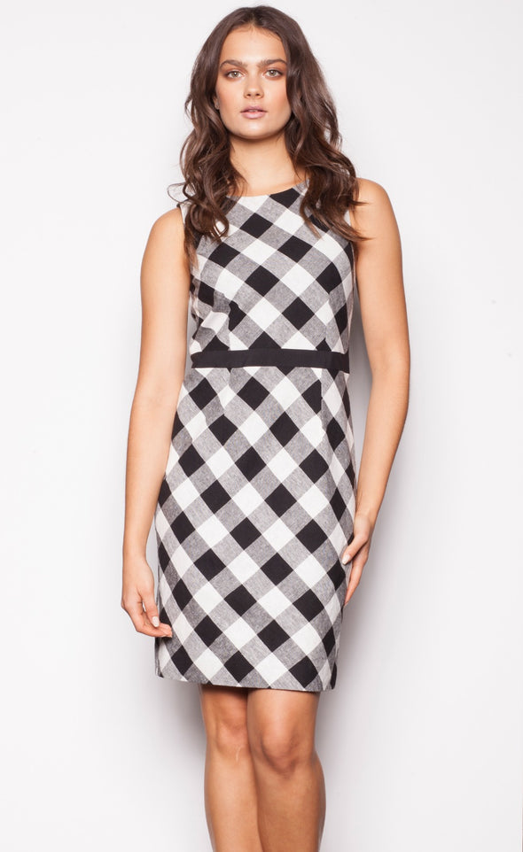 Gingham Girl Dress - Pink Martini Collection