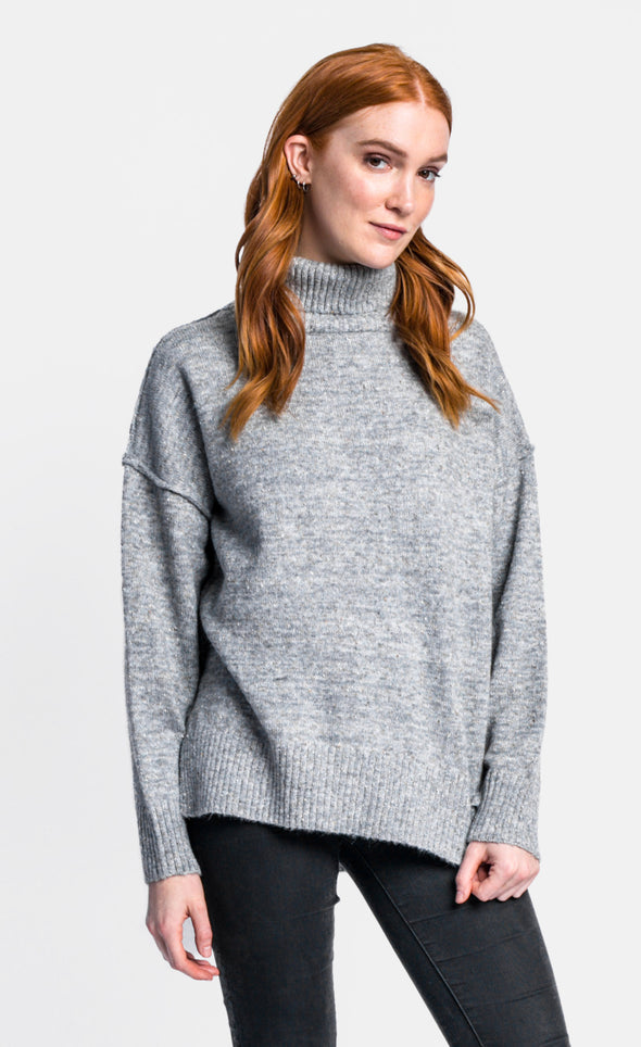 Mock It To Me Sweater - Pink Martini Collection