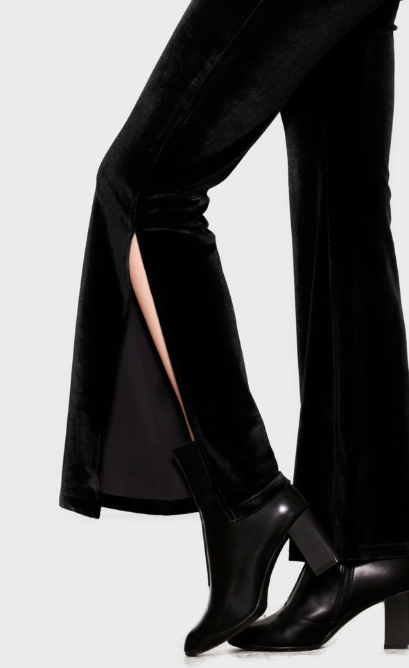 Moonlit Slit Pants - Pink Martini Collection