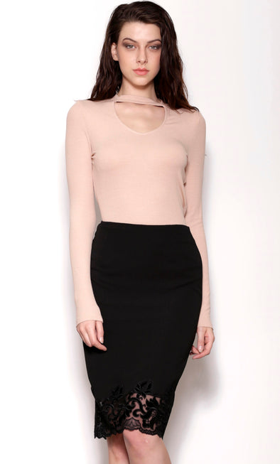 Edge Of Glory Skirt - Pink Martini Collection