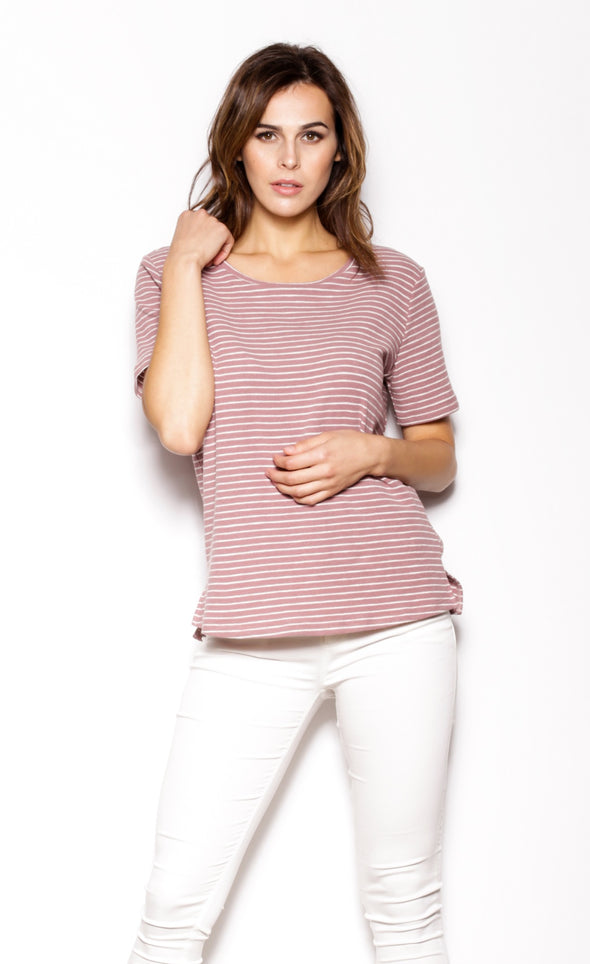 Stripes Dreams Top - Pink Martini Collection