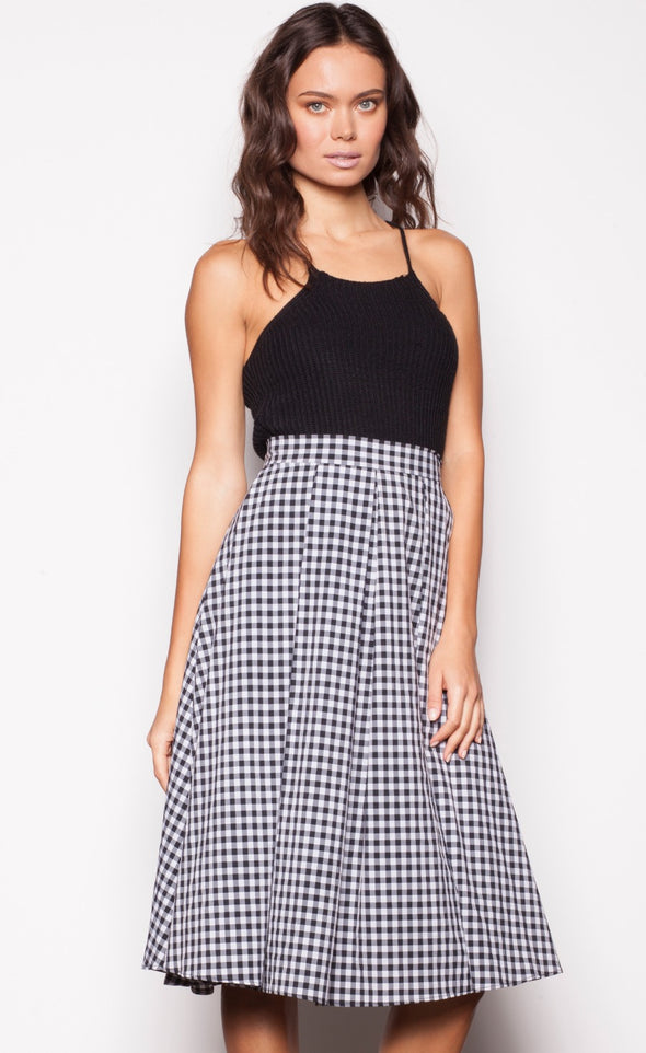 Sweet Pleats Skirt - Pink Martini Collection
