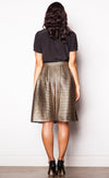 Gold Rush Skirt - Pink Martini Collection