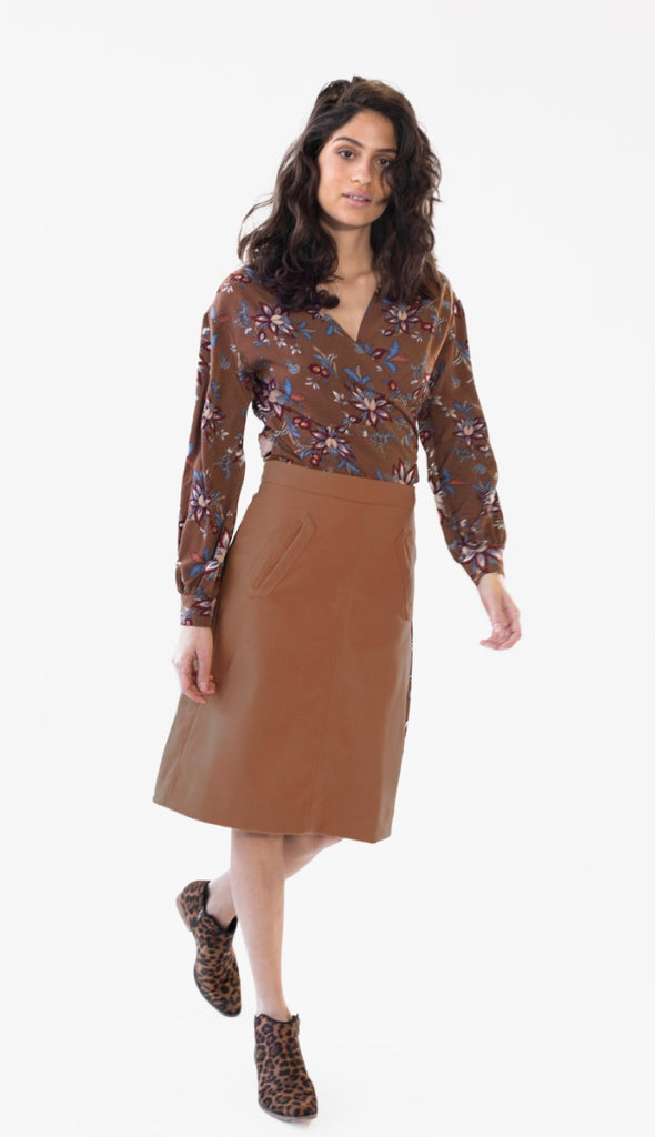 Aptitude Skirt - Pink Martini Collection
