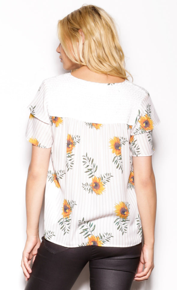 Sunshine Women Top - Pink Martini Collection