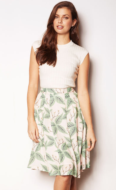 Leaf Skirt - Pink Martini Collection