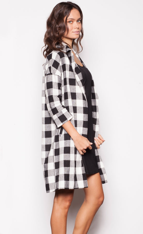 Gingham Girl Jacket - Pink Martini Collection