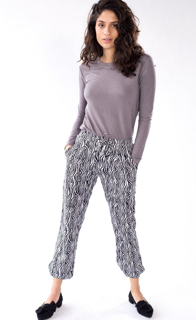 The Zebra Pants - Pink Martini Collection