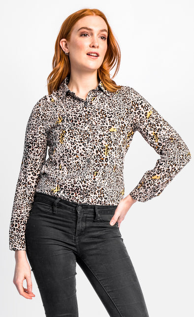 The Lea Top - Pink Martini Collection