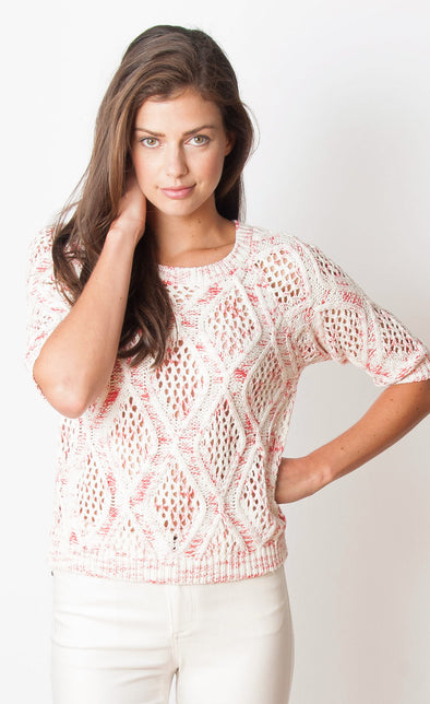 Belleflower Sweater - Pink Martini Collection