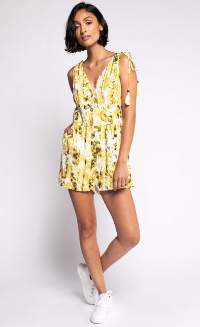 The Suzanne Romper - Pink Martini Collection