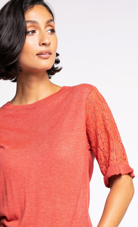 The Lacey Sweater - Pink Martini Collection