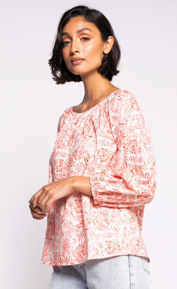 The Nomi Top - Pink Martini Collection