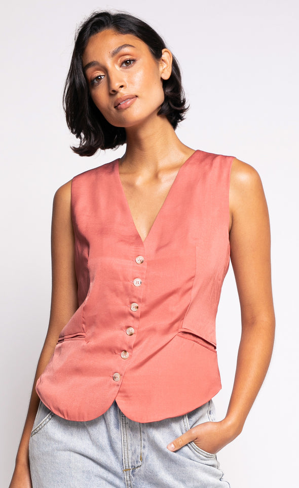 The Elena Vest - Pink Martini Collection