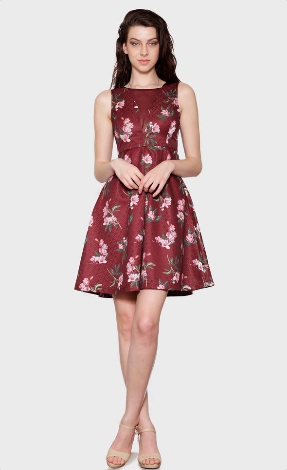 Wine & Dine Dress - Pink Martini Collection