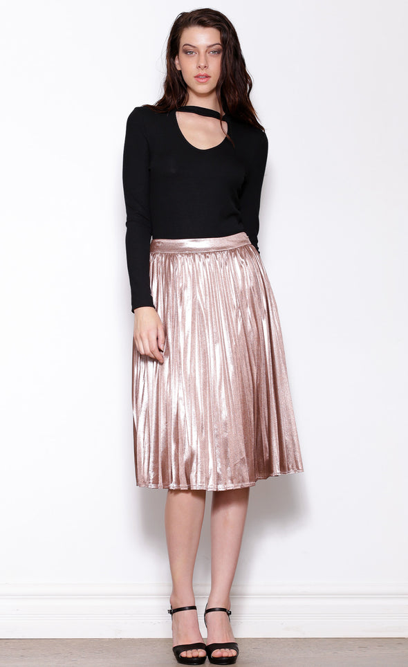 Sheen Queen Skirt - Pink Martini Collection