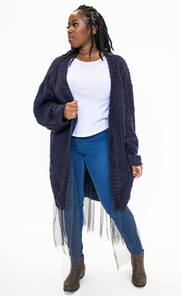 The Aera Cardi - Pink Martini Collection