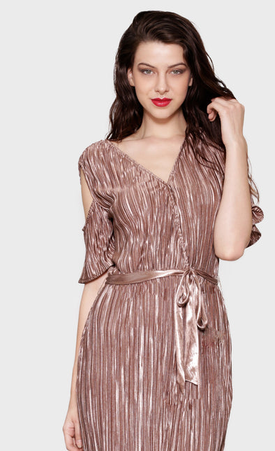 Plissé Yes Dress - Pink Martini Collection