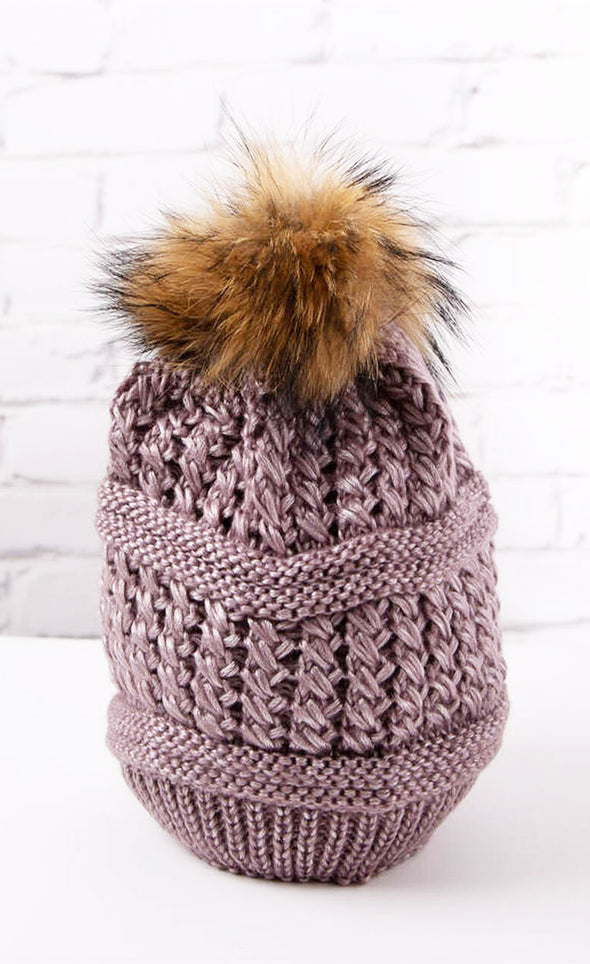 Knitted Toque - Pink Martini Collection