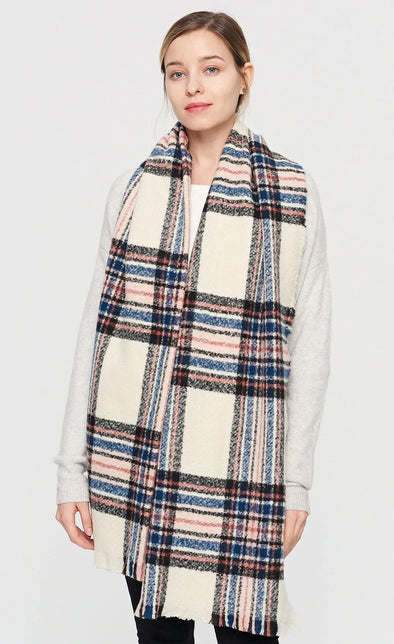 The Plaid Scarf - Pink Martini Collection