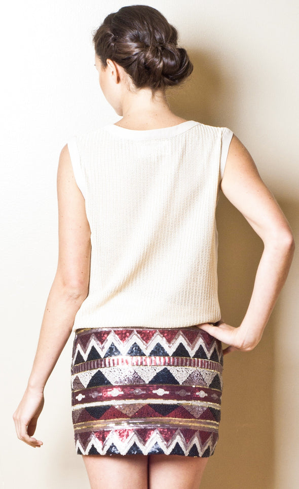 Night In Morocco Skirt - Pink Martini Collection