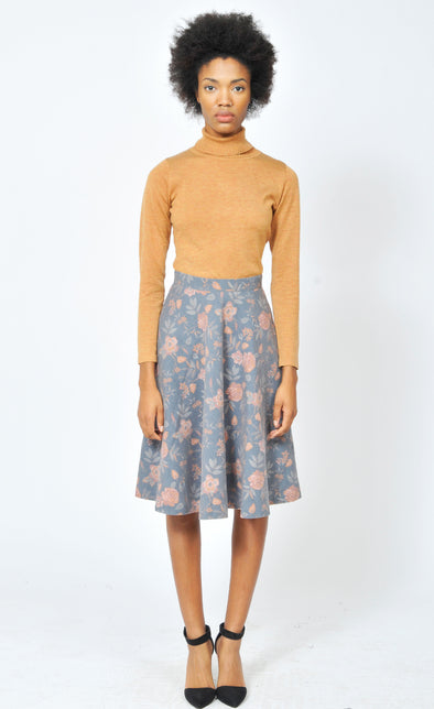 Tainted Roses Skirt - Pink Martini Collection