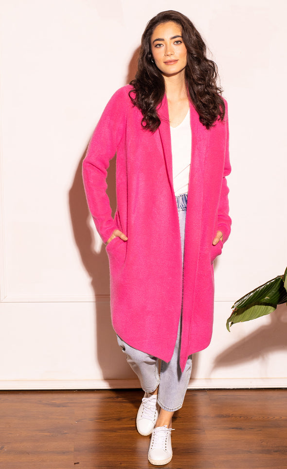 The Stockport Jacket Hot Pink - Pink Martini Collection