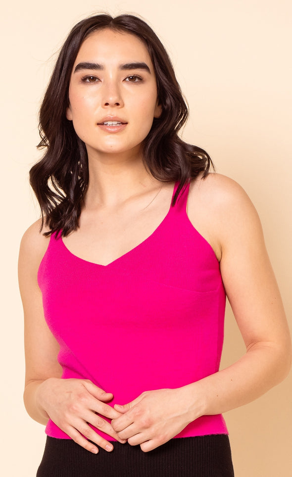The Cross Tank Top Pink - Pink Martini Collection