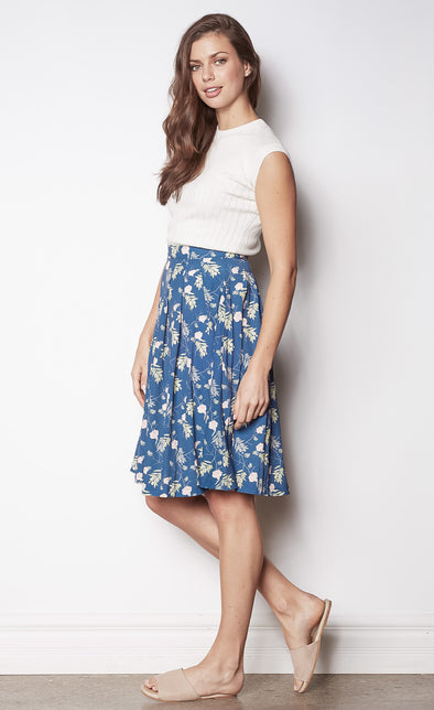 Lesley's Garden Skirt - Pink Martini Collection