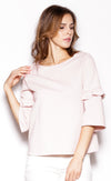 Weather Sweater Top - Pink Martini Collection
