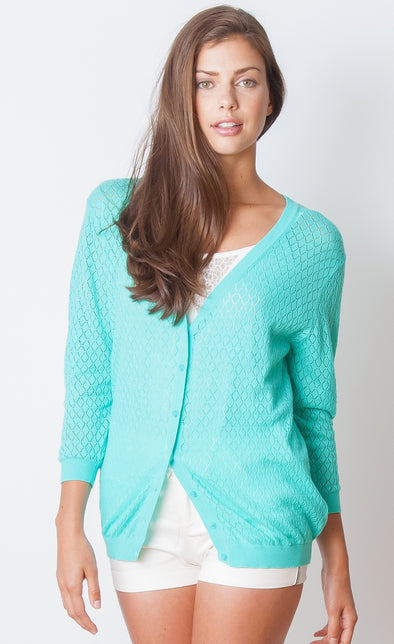 Coastline Cardigan - Pink Martini Collection