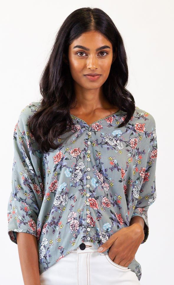 Spring Embrace Top - Pink Martini Collection