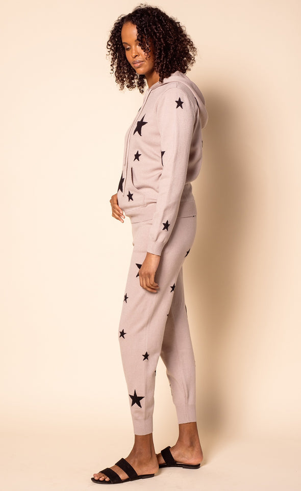 The Abella Pants Taupe - Pink Martini Collection