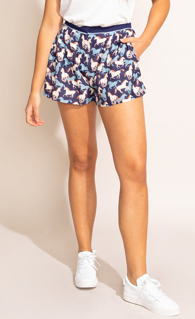 The Ranch Shorts - Pink Martini Collection