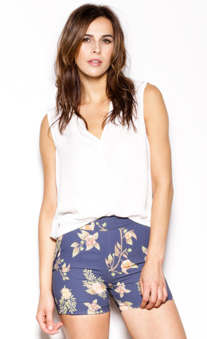 Blossom Out Shorts - Pink Martini Collection