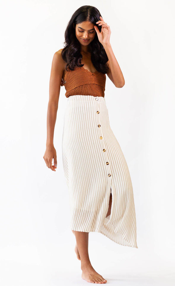 Bahama Skirt Beige - Pink Martini Collection