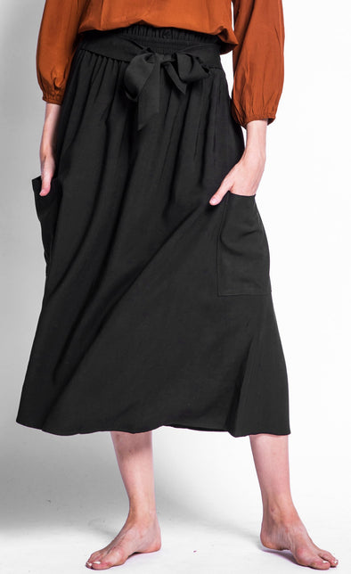 The Mia Belted Skirt - Pink Martini Collection