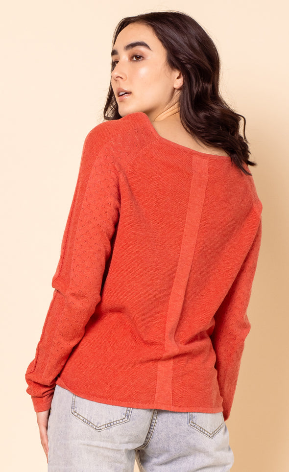The Nova Sweater - Pink Martini Collection
