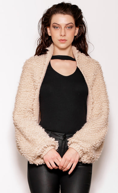 Shrug Hug Sweater - Pink Martini Collection