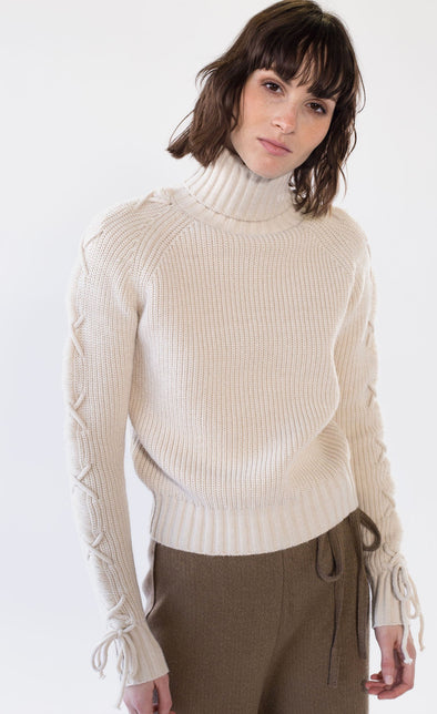 Navi Sweater Beige - Pink Martini Collection