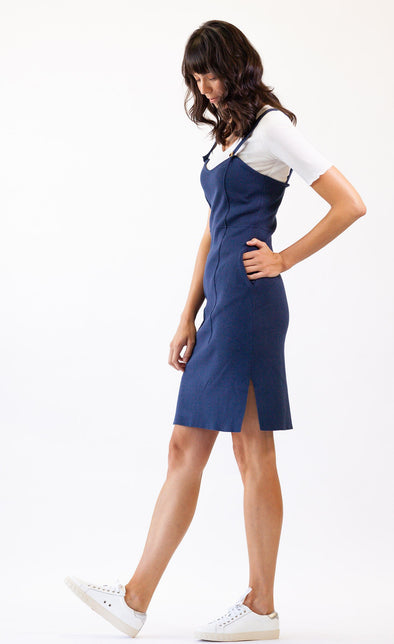 Santa Marina Dress Navy