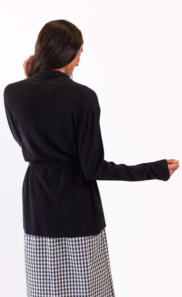 Ines Sweater Black - Pink Martini Collection