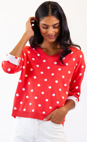 Follow The Dots Sweater