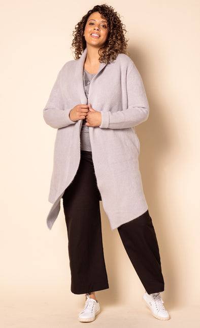 The Stockport Jacket Light Grey - Pink Martini Collection