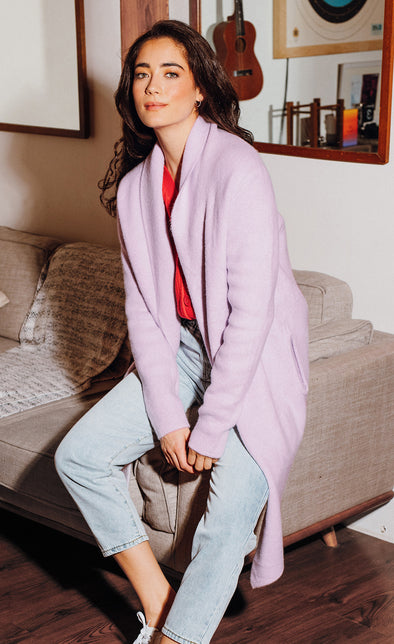 The Stockport Jacket Lilac - Pink Martini Collection