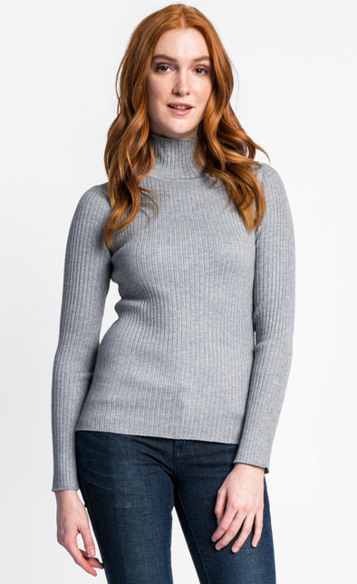 Pink Martini Collection - The Elise Sweater Grey