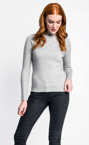 Pink Martini Collection - The Pilar Sweater Grey