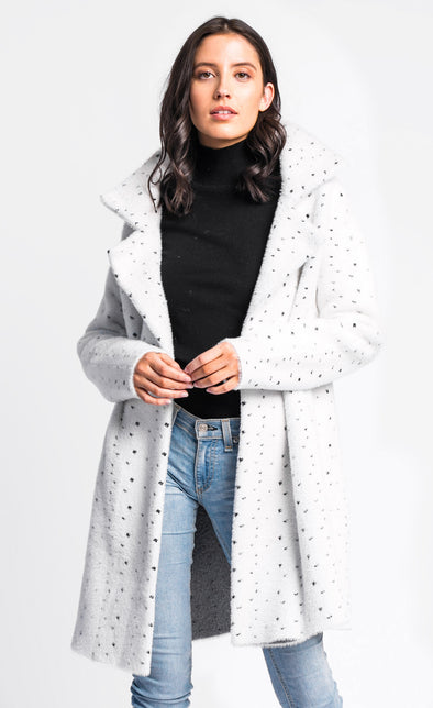 Pink Martini Collection - The 101 Coat White