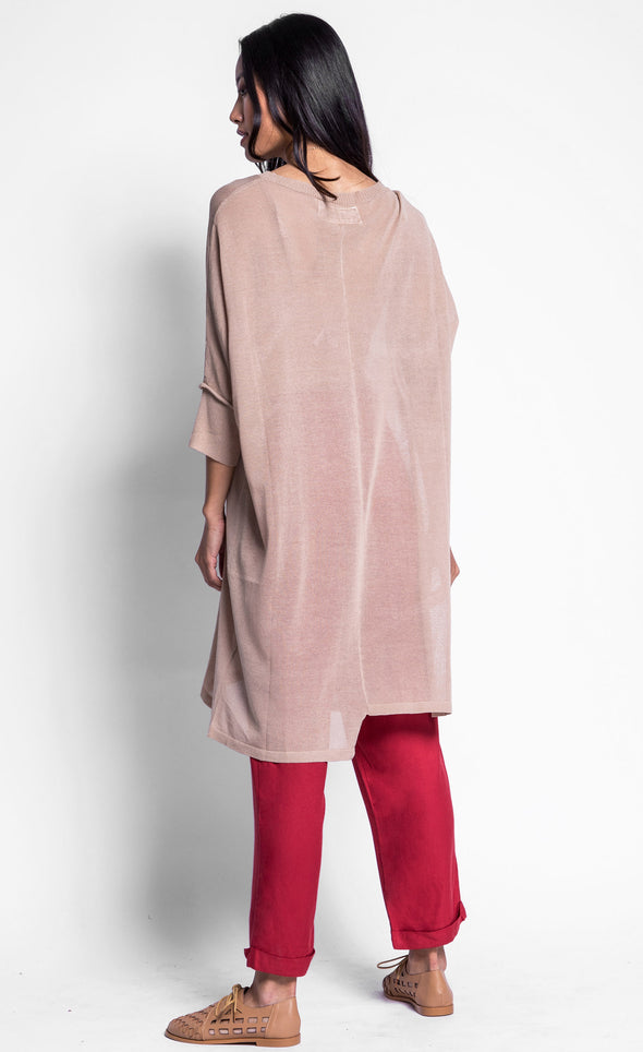 The Dustee Sweater Top - Pink Martini Collection